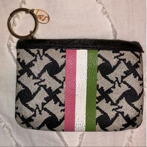 Juicy Couture Terrier Print Keychain Wallet